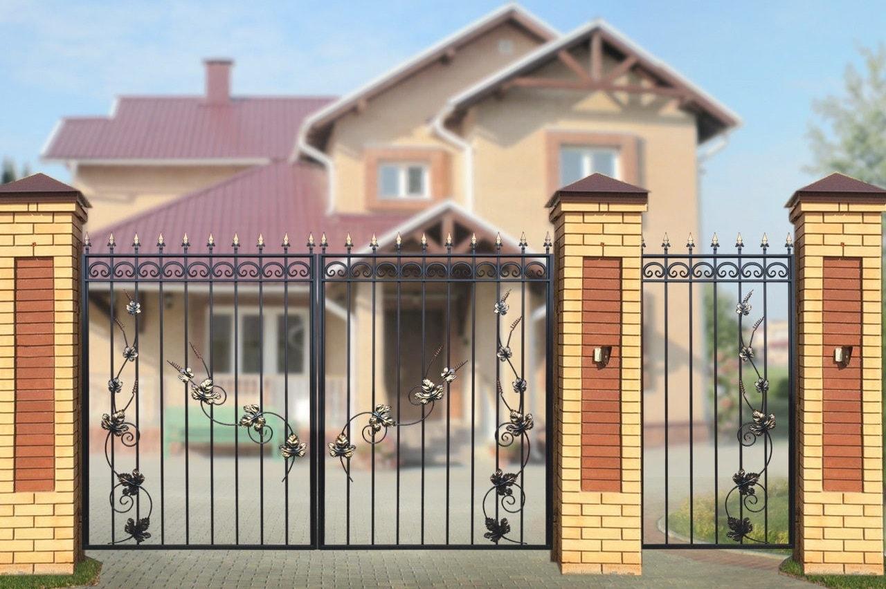 Ворота «Дачные» Лоза