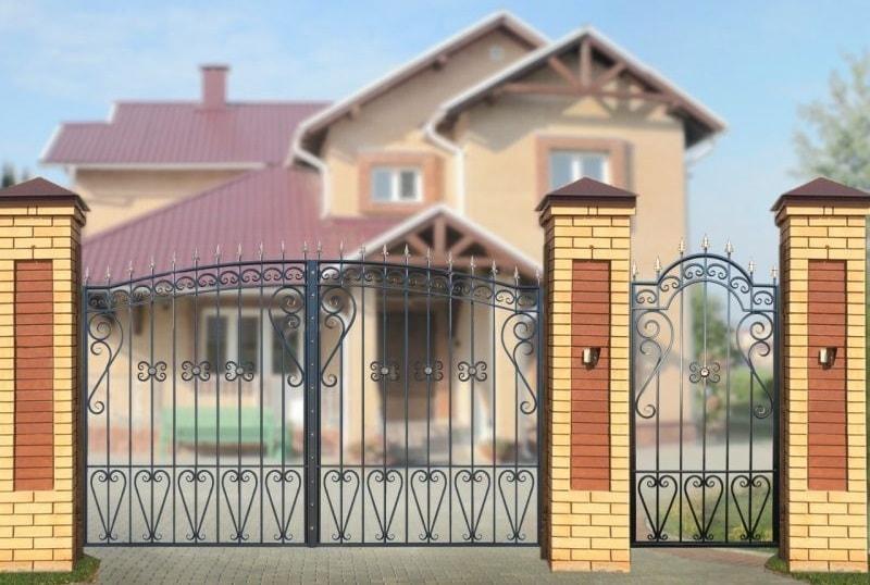 Ворота «Узорные-Лайт»