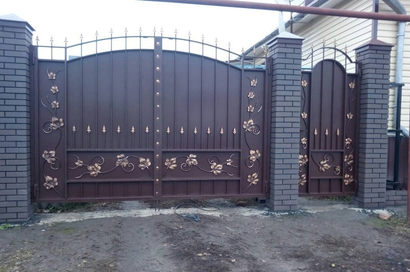 Ворота «Боярские Лоза»