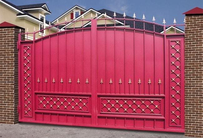 Ворота «Боярские» СК