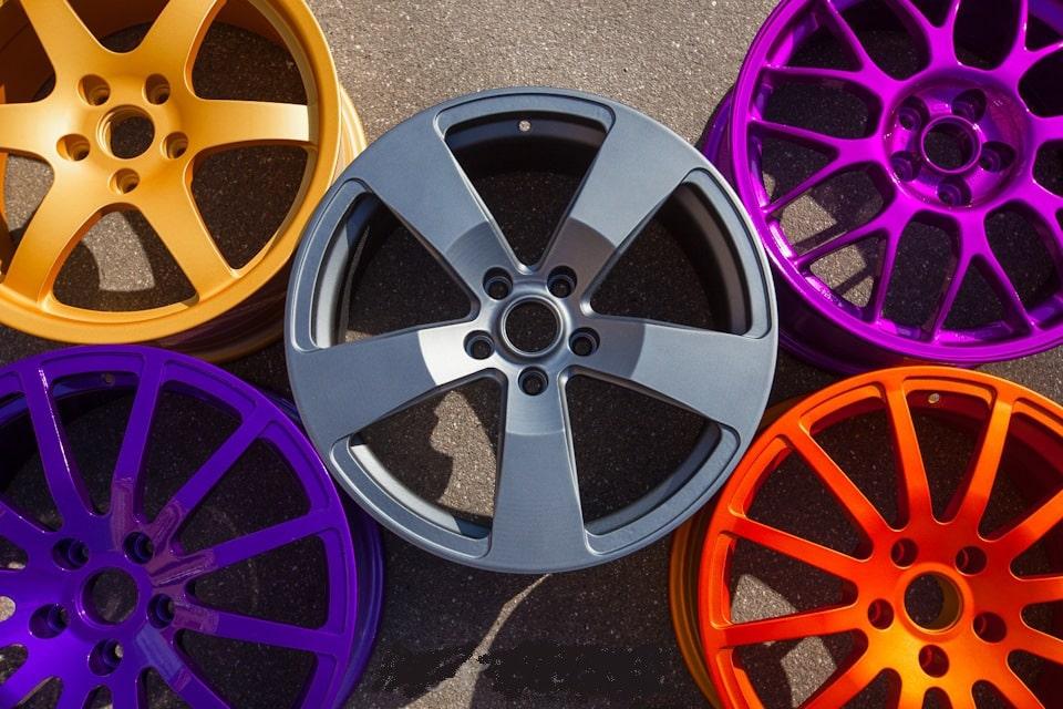 Покраска дисков и автодеталей