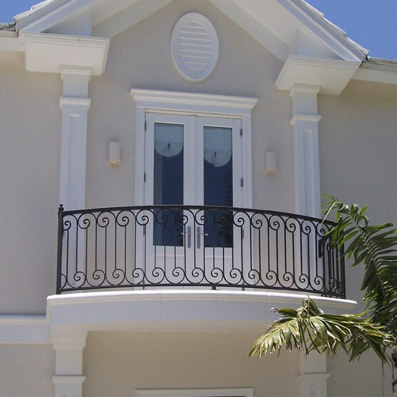 Ограждение балкона 011