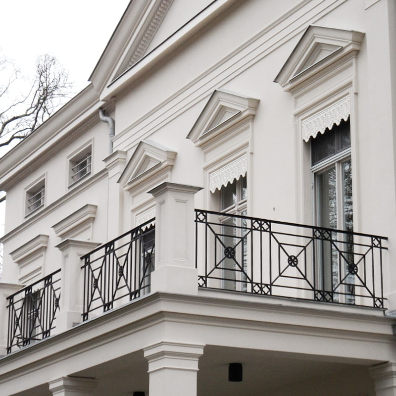 Ограждение балкона 012