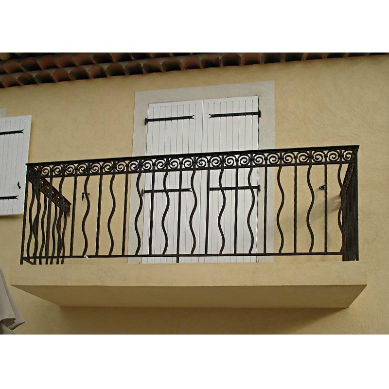 Ограждение балкона 014