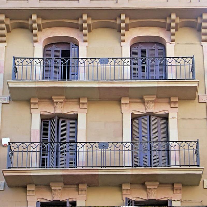Ограждение балкона 017