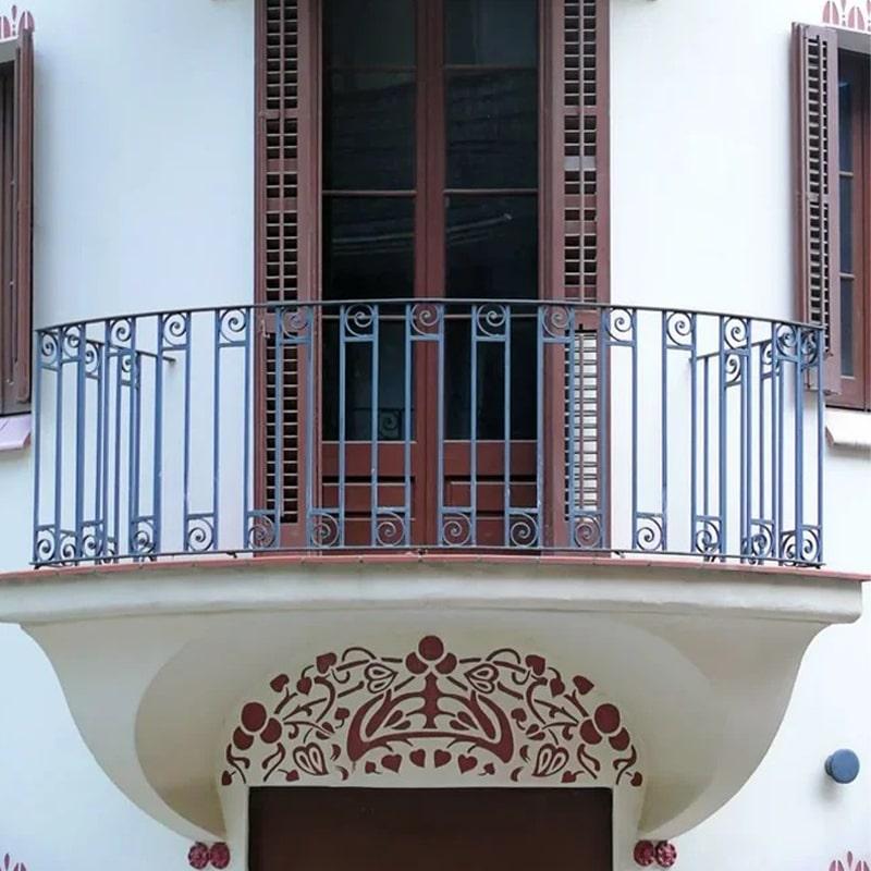 Ограждение балкона 018