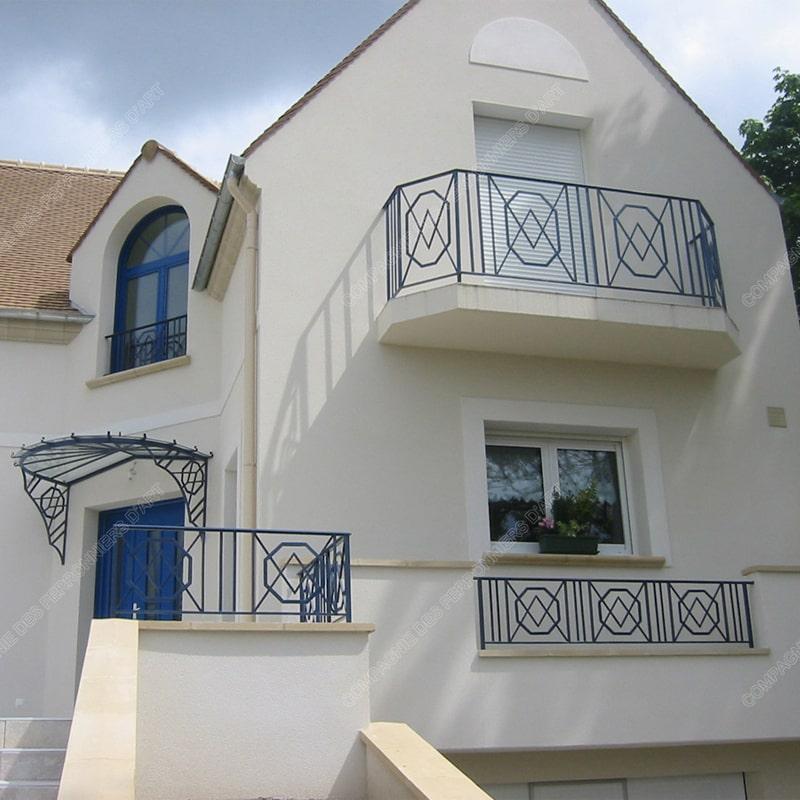 Ограждение балкона 020