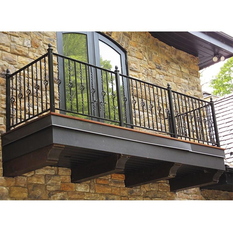 Ограждение балкона 004