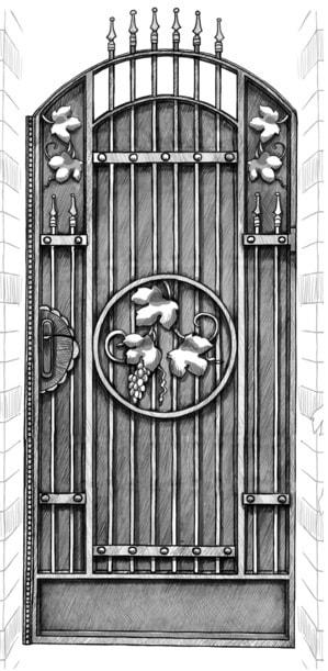 Калитка «Купеческая»