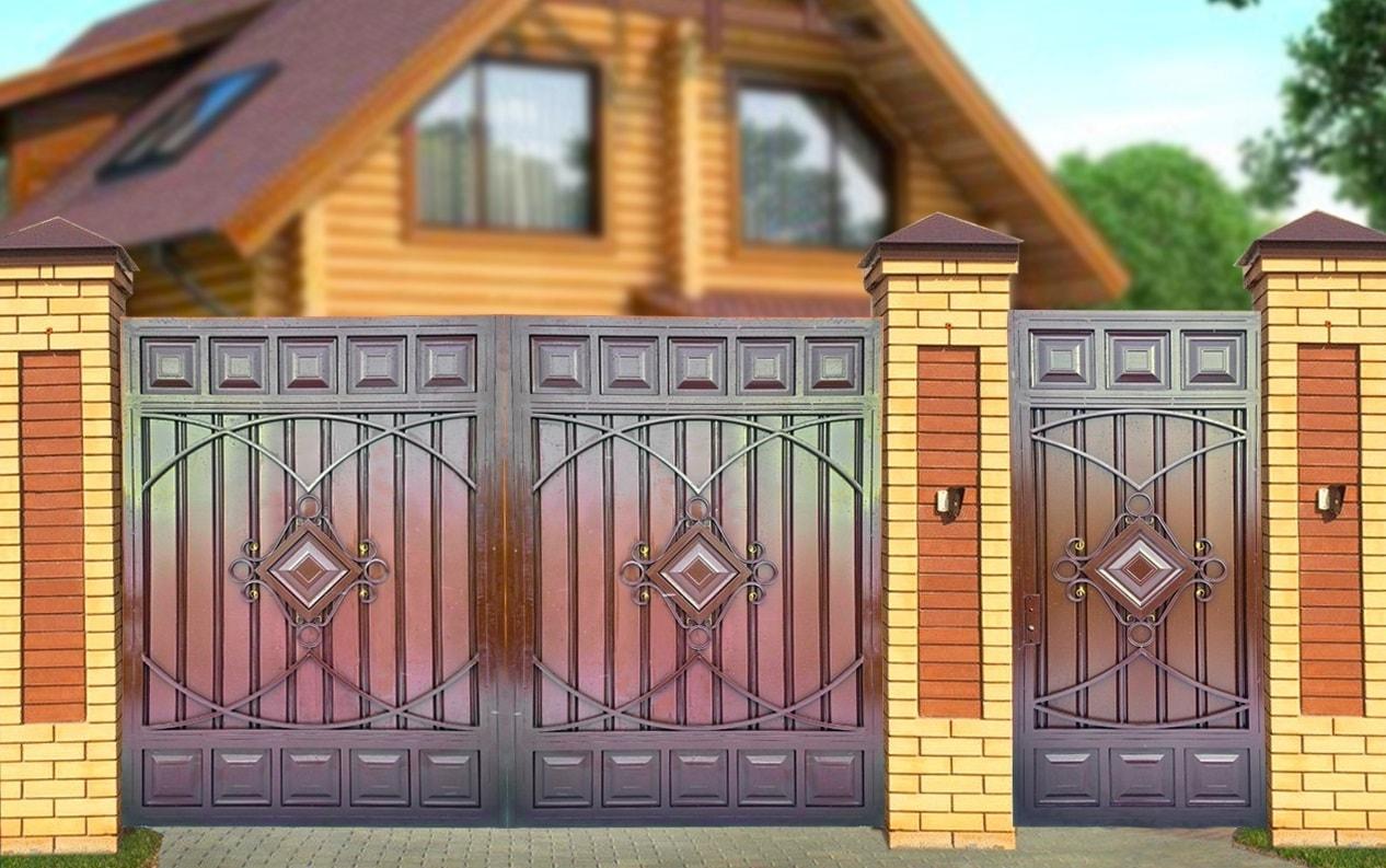 Ворота «Комбинированные МП»