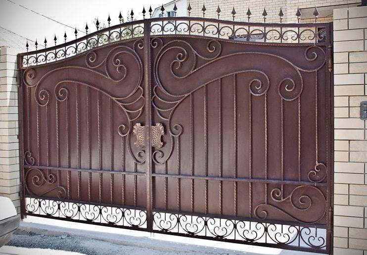 Ворота «Кованые №29»